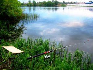 Донка на озере