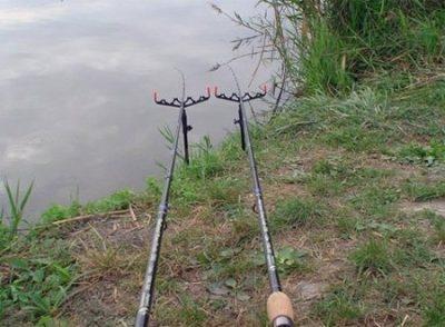 Фидер на водоеме