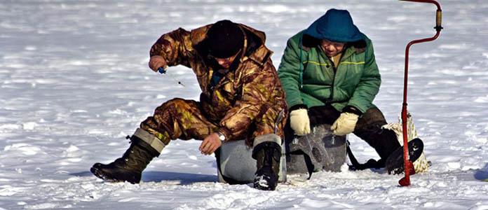 Рыбаки зимой