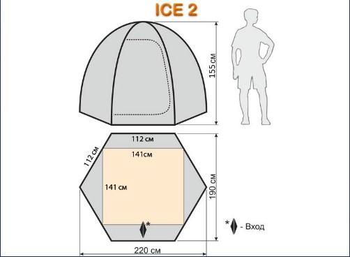 Размеры Айс 2