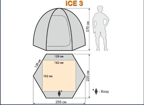 Размеры Айс 3