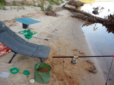 Место рыболова