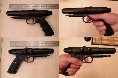 Размеры пистолета