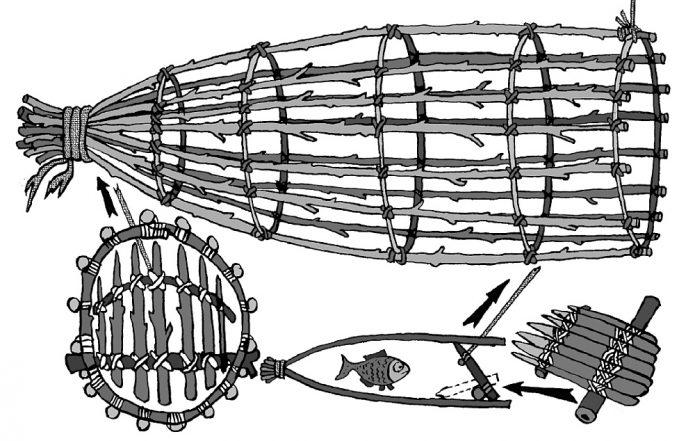 Устройство рыбной ловушки