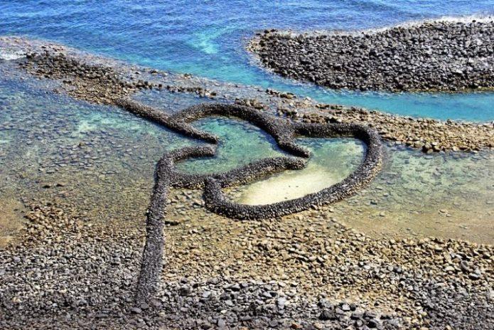 Ловушка из речного камня