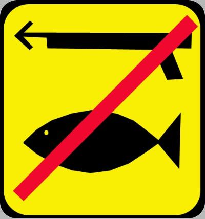 Запрет на подводную охоту