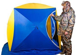 Рыболов и палатка