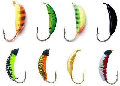 Разноцветные мормышки