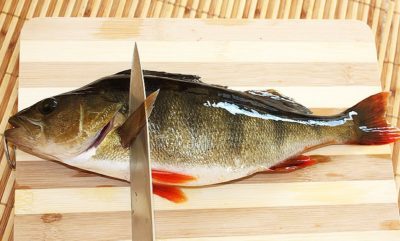 Рыба на доске