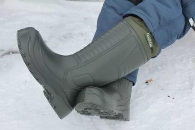 Выбираем обувь для зимней рыбалки