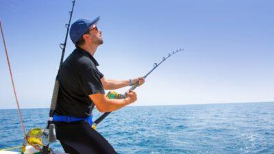 Ловля рыбы на море