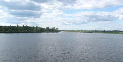 Участок реки в Юркино