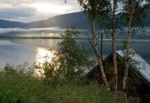 Озеро в Сибири