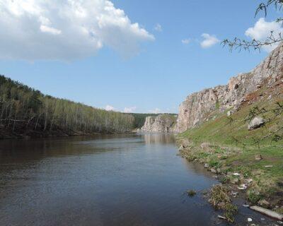 Река в Тюмени